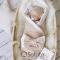 Комплект на выписку летний baby Milk Stars
