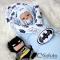 Комплект на выписку холодное лето baby Batman