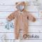 Комплект на выписку холодная зима baby Teddy