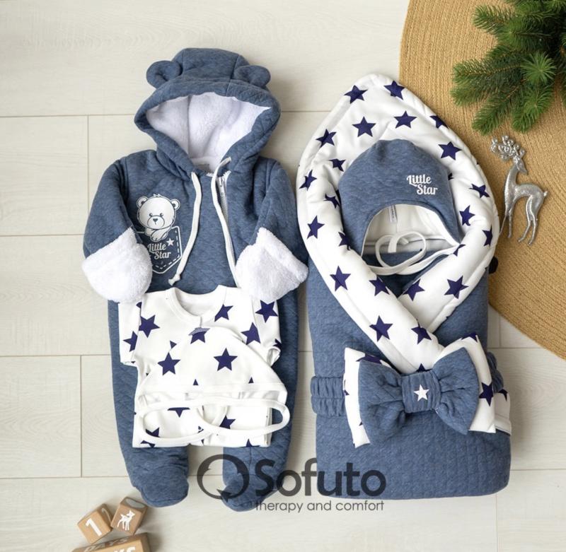 Комплект на выписку холодная зима baby Little star
