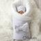 Комплект на выписку зимний baby Light grey